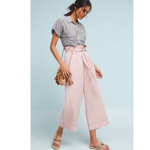 MWT Anthropologie Blythe wide leg pants